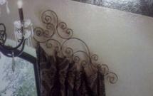 Decorative Curtain Rod Bracket CR3034